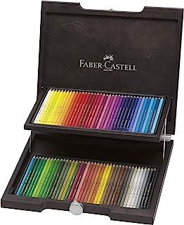 Faber-Castell 辉柏嘉 Polychromos 艺术家彩色铅笔 鸡翅木木箱装 72 支 Polychromos 彩色铅笔 Holzkoffer | Polychromos 72 Farben