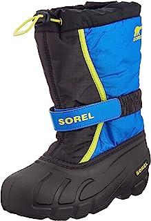 Sorel 中性儿童青少年Flurry 雪地靴