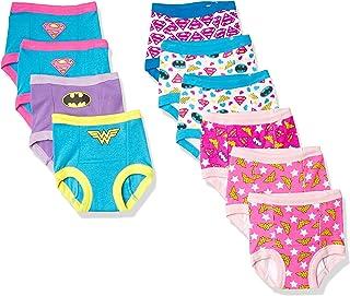 Justice League 女童如厕训练裤多件装