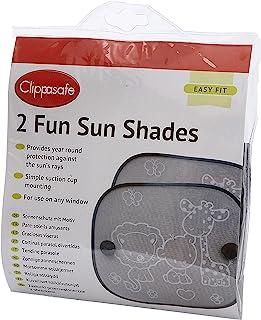 Clippasafe Fun 遮阳板(黑白,2 只装)