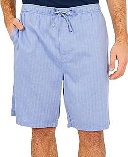 Nautica 男式 梭织棉短睡裤