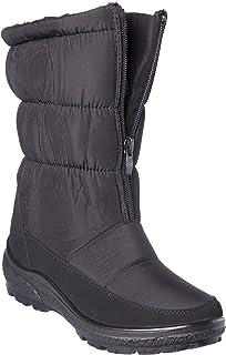 wolfsburg5 女式冬季靴中底毛皮衬里寒冬鞋