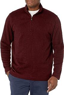 Van Heusen 男式 Flex 长袖 Spectator 1/4 拉链毛衣 羊毛衫