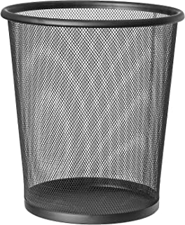 Artmoon Mesh   699768   废纸篓,黑色办公室垃圾桶  钢,黑色   12 升容量  26.5 x 29.5 厘米