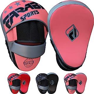 Farabi 运动弧形焦点手套 - 综合格斗(MMA)拳击手套,拳击训练,目标拳击手套和垫