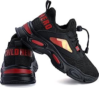 JOOMRA 小/大男孩轻便鞋儿童可水洗易穿脱运动鞋