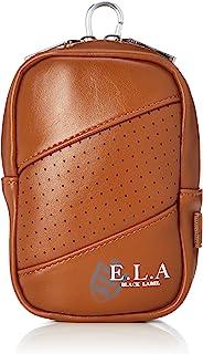 E.L.A Amazon.co.jp限定 高尔夫 剪刀包 内部* 高尔夫球鞋, 棕色, W9.5×H14×D5㎝
