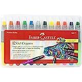 FABER-CASTELL 凝胶蜡笔 – 超软适用于 Brilliant 颜色和 SUPERIOR 混合 – 适用吨 O…