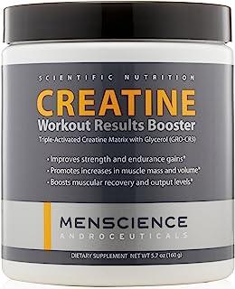 MenScience Androceuticals Creatine 锻炼结果助推器