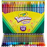 Crayola 绘儿乐 彩色铅笔套装,可弯曲,美术用品,儿童礼物,50支