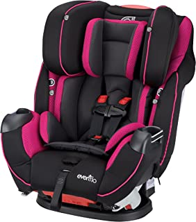 Evenflo Symphony Elite All-in-One Convertible Car Seat, Raspberry Sorbet