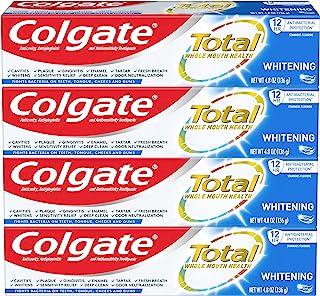 Colgate 高露洁全*牙膏凝胶 - 4 盎司(4 瓶装)