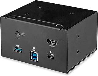 StarTech.com 笔记本电脑扩展坞模块 用于会议桌连接箱 - 4K HDMI - USB-C/USB-A - USB-C PD - 主板扩展坞站 (MOD4DOCKACPD)