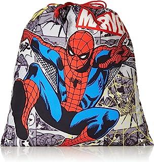 Marvel 漫威 蜘蛛侠 反光印刷 布袋 男孩 313115005 黑色