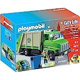PLAYMOBIL 绿色回收卡车玩具