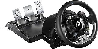 THRUSTMASTER 图马斯特 T-GT 游戏方向盘与3踏板套件(强制反馈,270° - 1080°,Eco系统,Gran Turismo牌照,PS4/PC)