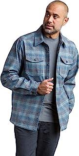 ExOfficio 男式 Brux Burn 格子长袖衬衫