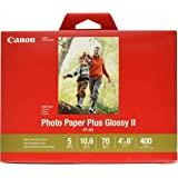 "Canon 佳能 CanonInk相纸Plus Glossy II 4""x 6""(10.16cm x15.24cm) 4…"