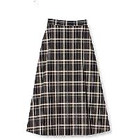 ROPICNICE 短裙 【WEB限定】棉麻格子长裙 女士 GDC29100