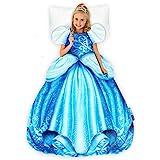 Blankie Tails 迪士尼公主灰姑娘连衣裙可穿毯