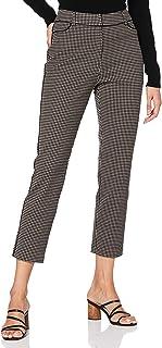 APART 时尚女式犬牙花纹长裤