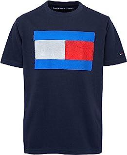 Tommy Hilfiger 男童短袖国旗 T 恤