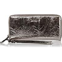 Calvin Klein Key Item 标志性欧陆拉链钱包,带腕带