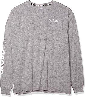 PUMA 彪马 Esports 男孩 x CLOUD9 Level Up 长袖 T 恤