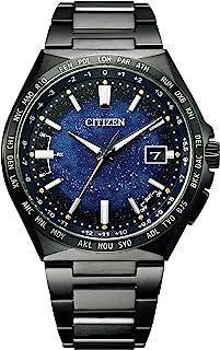 [Citizen] 腕表 Atessa 钛技术 50 周年纪念 漫画蓝色系列 限定款 2200 根 有序列号码 CB0219-50L 男士 黑色