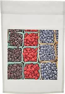 danita delimont–市场–水果 AT 农贸市场中南 haven 密歇根州–US23mgi0070–MARK gibson–旗帜 12 x 18 inch Garden Flag