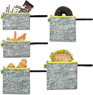 双层可重复使用三明治袋