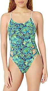 TYR 女式 Malibu 女子训练 Tetrafit Durafast One 训练泳衣