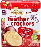 Happy Baby,草莓石榴甜菜,12支装