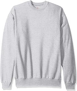 Hanes 男式 Ecosmart 抓绒运动衫 灰色(Ash) Medium