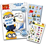 Despicable Me Minions Coloring Book with Stickers ~ Over 295…
