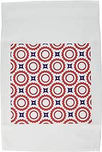 tnmgraphics 军事和爱国–红色白色和蓝色–旗帜 12 x 18 inch Garden Flag