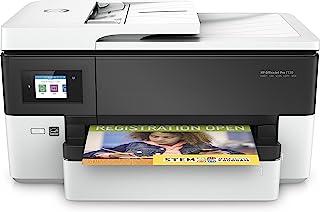 HP 惠普 Officejet Pro 7720(Y0S18A#A80)多功能Wi-Fi热喷墨彩色打印机,高达34 ppm-白色