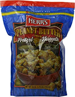 Herr's Peanut Butter Filled Pretzels, 28 Ounce