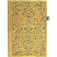 paperblanks 爱尔兰 Gold Inlay系列横线笔记本小号 金雕