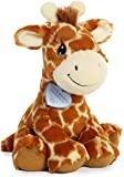 Aurora Raffie 长颈鹿毛绒玩具,棕色