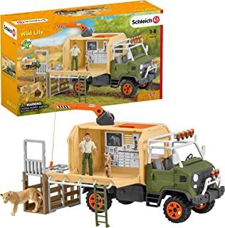 SCHLEICH 42475 动物救援大型卡车野生生活