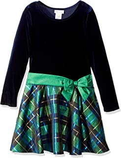 Bonnie Jean 女童时髦连衣裙