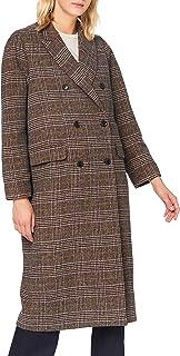 Herrlicher 女式菲律宾羊毛格子外套