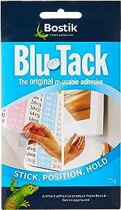 Bostik 波士胶 BLU TACK蓝丁万能宝贴/黏土75G 可重复使用