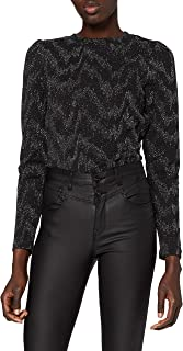 ONLY 女士 Onyfancy L/S Glitter Top JRS 长袖衬衫