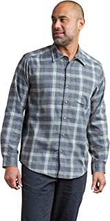 ExOfficio 男士 Okanagan 大格纹长袖衬衫