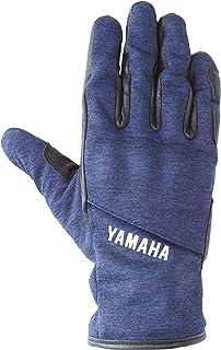 [Yamaha 雅马哈] 骑行手套 KUSHITANI联名款 YAG56-K RAVEN 冬季手套