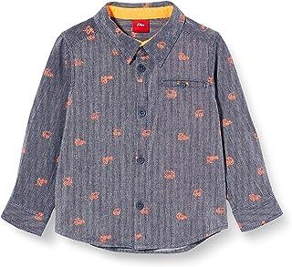 s.Oliver 少年男婴卷边衬衫