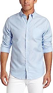 Lee Uniforms 男式 長袖牛津襯衫