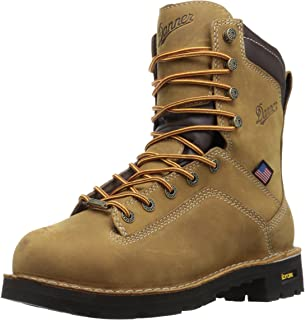 Danner Quarry USA 8 英寸合金鞋头工装靴
